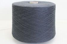E52 (12,49€/kg) 1600g SCHOELLER SCHURWOLLE ORIONBLAU (22/2) Wolle Zwirn Strick