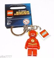 Lego FLASH keychain with tag DC Comics Super Heroes key chain 6116676 853454