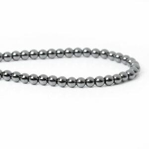 Hämatit Perlen Rund, Herz oder Stern 4-6 mm 10 -100 Stück