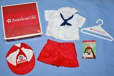American Girl Doll MOLLY'S CAMP GOWONAGIN UNIFORM with BOX & CARDS & HANGER