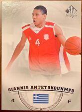 2013-14 SP Authentic GIANNIS ANTETOKOUNMPO #36 RC Rookie MILWAUKEE BUCKS MVP