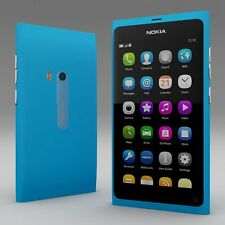 "Unlocked NOKIA N series N9 N9-00 16GB 8MP 3.9""  Windows Smartphone Blue Cheap"