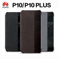 Original Huawei Case Smart View Flip PU Leather Cover For Huawei P10 P10 Plus