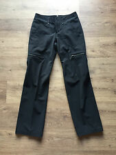 DRYKORN / Gr. 36 / elegant-sportliche Stoff Hose schwarz / straight cut