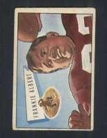 1952 Bowman Small #5 Frankie Albert VG/VGEX 49ers 101579