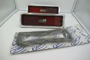 1970  1971 CHEVY NOVA OEM TAIL LAMP ASSEMBLIES  LEFT AND RIGHT SIDES