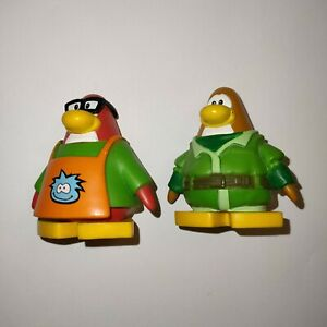 2 Disney Club Penguin Figures