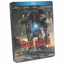 Iron Man 3 [Steelbook] [Blu-ray] NEU / sealed / not perfect