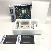 Original Nintendo Game Boy DMG-01 Console CIB Complete 1989 Sealed Headphones
