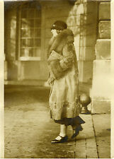 """Reine MARIE de YOUGOSLAVIE Hôtel RITZ 1931"" Photo originale G.DEVRED / Agce ROL"