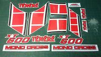 Kit completo YAMAHA XT 600 Z TENERE 1984 - adesivi/adhesives/stickers/decal