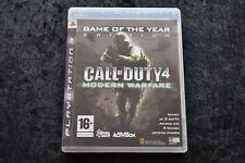 Call Of Duty 4 Modern Warfare Playstation 3 PS3