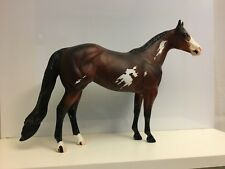 Es Nantucket - Peter Stone Model Horse - Bay Paint - #9999 - 2000