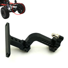 Adjustable Aluminum Tow Trailer Hitch For Axial SCX10 RC Rock Crawler Black #C