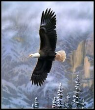 Chart Needlework Crafts DIY Counted Cross Stitch Kits Eagle in Flight