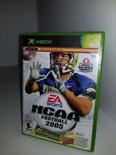 2 Juegos NCAA Fútbol 2005 / Top Spin Tenis para Xbox Original Cib Completo C22