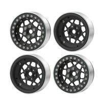 "4PCS 2.2"" Metal Beadlock Wheel Rims for 1/10 RC AXIAL Wraith SCX10 TRX-4 4WD"