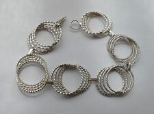 Armband filigrane Arbeit Mexico 925 Silber Vintage 70er bracelet silver