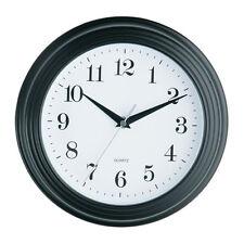 Premier Housewares Vintage Wall Clock 26 Cm - Black