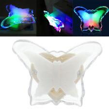 3D Papillon Coloré Veilleuse Lampe Salle Murale Décor Bureau Maison Bébé Chambre