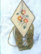 Golden Daisy Embroidered and Beaded Pin Kit