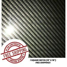 "Hydrographic Film Water Transfer Hydro Dip Film Carbon Fiber 15 1Sq (19"" X 78"")"