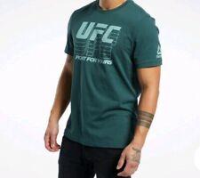 Reebok UFC Logo T Shirt Official Merchandise Uk Size  XS To 3 XL