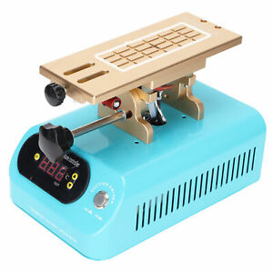 Mobile Phone LCD Touch Screen Separator Heating Tube 400W LED Digital Display
