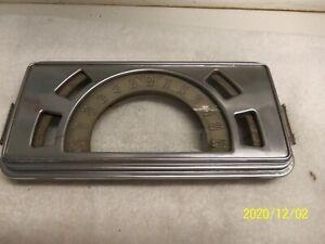 1938 Buick Dash Speedometer & Gauge Housing