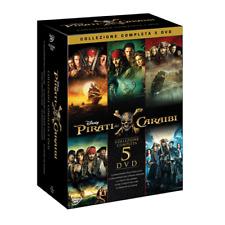 Pirati Dei Caraibi Collection 1-5 (5 Dvd)  [Dvd Nuovo]