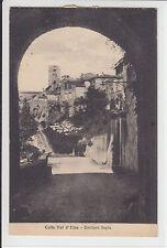 AK Colle di Val d'Elsa, Toscana, Bastione Sapia, 1934