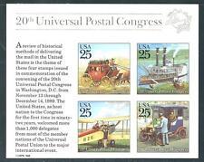 USA - MNH Souvenir Sheet 25c Universal Postal Congress  Scott  2438