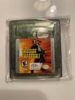 Mission Impossible Gameboy Color Game