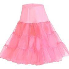 "50s Vintage Rockabilly Petticoat Skirt, 26"" Length Net Underskirt"