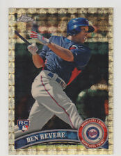 BEN REVERE 2011 Topps Chrome Superfractor Rookie Card #D 1/1 Twins Phillies RC