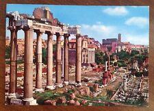 Vintage Postcard Foro Romano (Roman Forum)