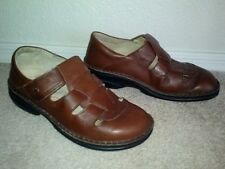 finn comfort sz 37 shoes sandals leather cork insole made in germany