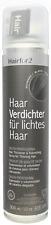 Hairfor2 Schwarz Haarverdichter Haarauffüller 300ml Sprühhaar Cover