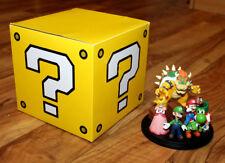 2010 CLUB NINTENDO Europe Super Mario Characters Figurine Statue Bowser Yoshi