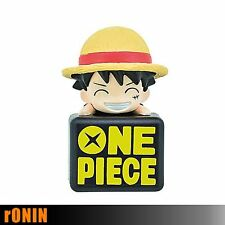 RUFY - ONE PIECE Double Jack Mascot 3 LUFFY RUBBER - Mascotte per cellulare