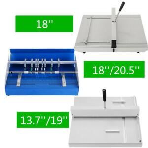 """20,5""""/18""""/19""""/13,7"""" Nutmaschine Rillmaschine Scoring Papier Faltende Maschine"""