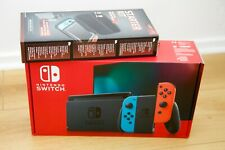 Nintendo Switch Console w Improved Battery Neon+extras. Brand new, ready to post