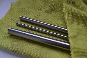 4mm x 19mm Silber Stahl Quantität 100 CNC Bearbeitet Enden Mit Fase