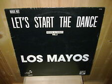 "LOS MAYOS let's start the dance - 12"" MAXI 45 T"