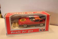 POLISTIL #E2002 FERRARI 365 GTB/4 Daytona red - 1:41 scale model (Made in Italy)