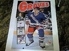 1994 Adam Graves New York Rangers Filmstrip Original Norman James Poster OOP