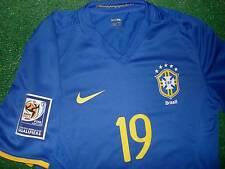 BRASIL AWAY  QUALIFIERS WC 2010  Match Issued Shirt   XL
