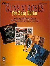 GUNS N' ROSES FOR EASY GUITAR TAB SHEET MUSIC SONG BOOK