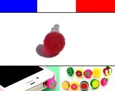 Cache anti-poussière jack universel iphone capuchon bouchon Boule strass 9