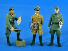 """Verlinden 1/35 """"Top Brass"""" German Commanders WWII (3 Figures) [Resin Model] 2547"""